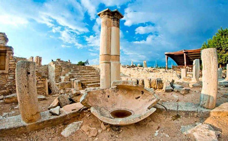 Лимасол-Курион-Кипр-древний-город
