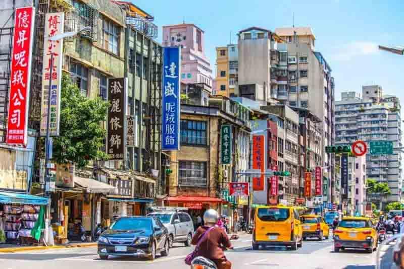Datong-District-Taipei-in-Taiwan